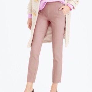 J. Crew Martie Mauve Pink Ankle Pant Sz 16 Tall